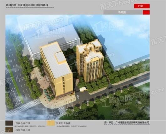 桂阳新城效果图