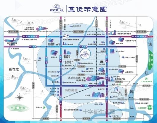 数之城澜庭交通图