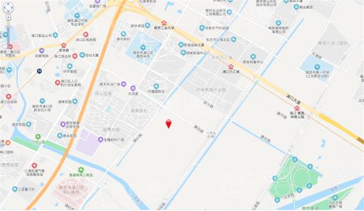 望江悦府交通图