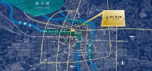 融创·黄河映交通图