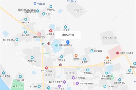 盛世文昌交通图