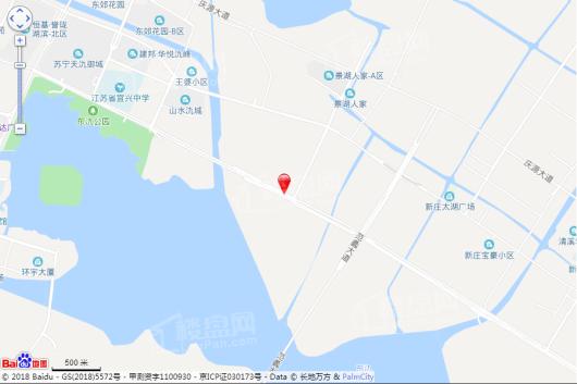 宜兴恒大翡翠华庭交通图