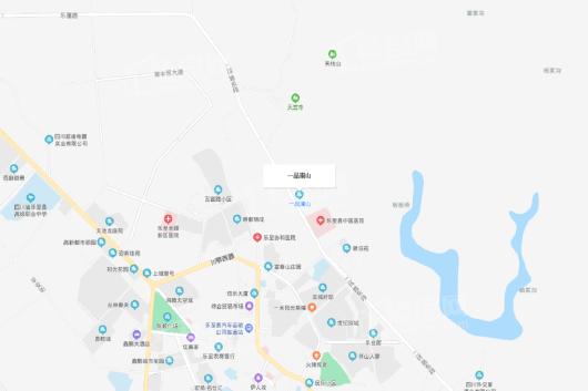 一品澜山交通图