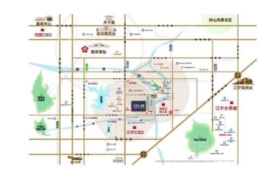 中海龙湾U-LIVE交通图