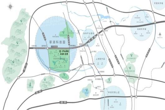 G-PARK龙湖·云域交通图