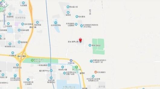 星光视界公园交通图