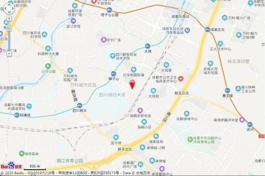 滨江樾城(公寓)交通图