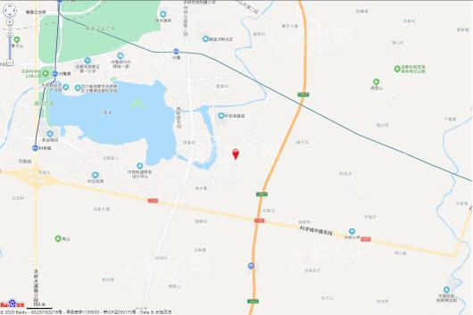 天投·中国铁建·鹿溪樾府交通图