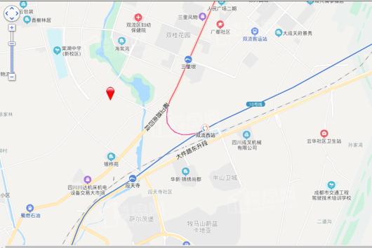 正源荟艺境交通图