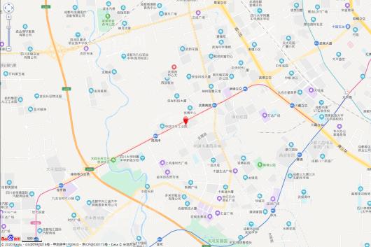 双凤桥TOD·凤舞七里交通图