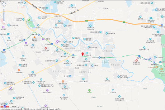 隆基泰和·紫樾锦西府交通图