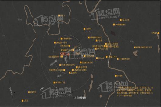五江国藩院交通图