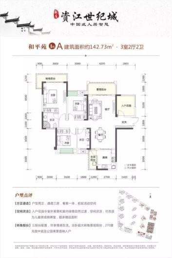 新康·资江世纪城·和平苑户型图