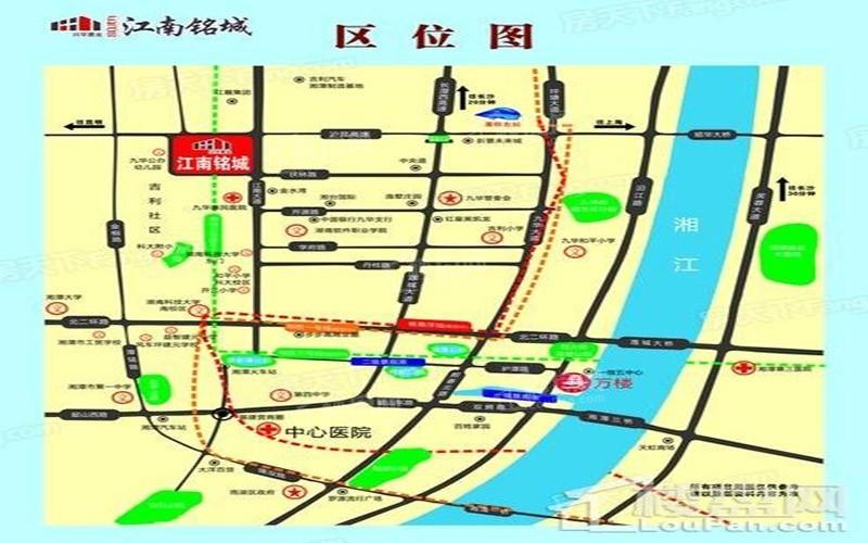 江南铭城位置图