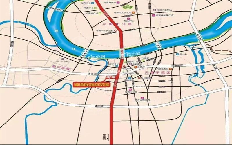湘潭联海商贸城位置图