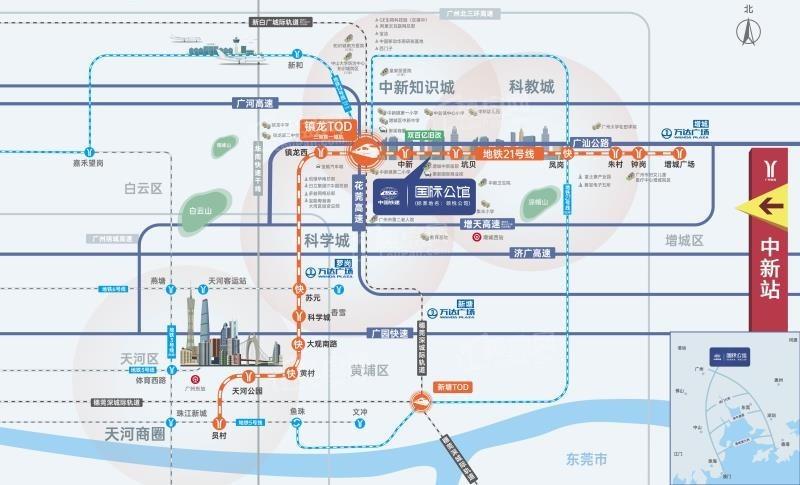 中国铁建国际公馆位置图