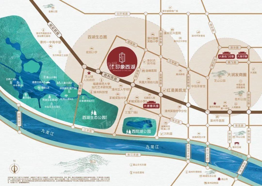大唐三木印象西湖位置图