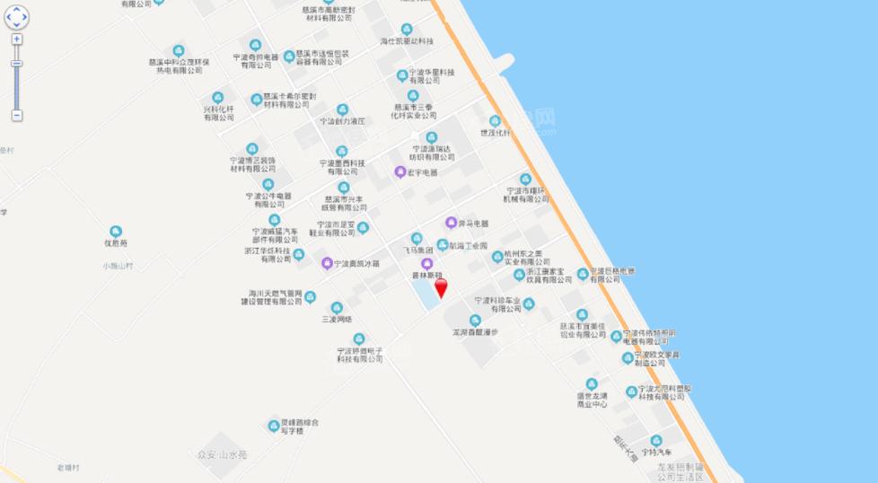 同信龙山新城位置图