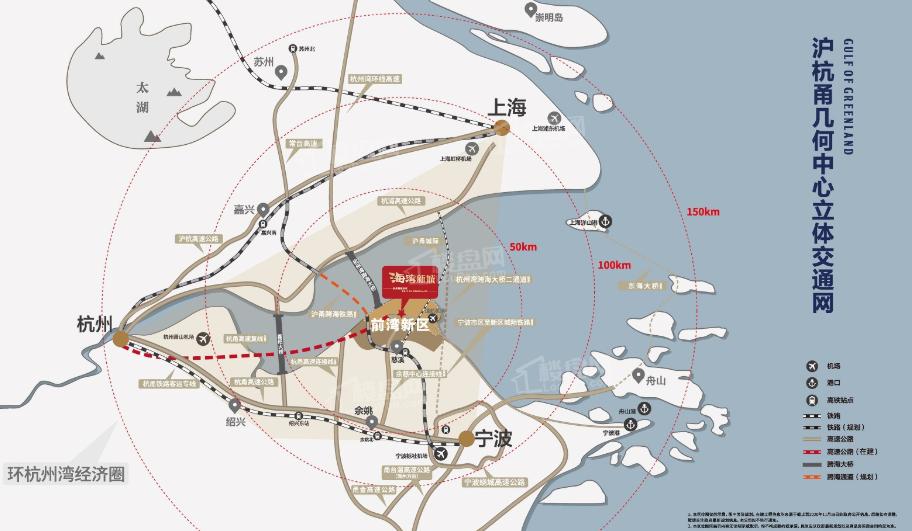 海湾新城位置图