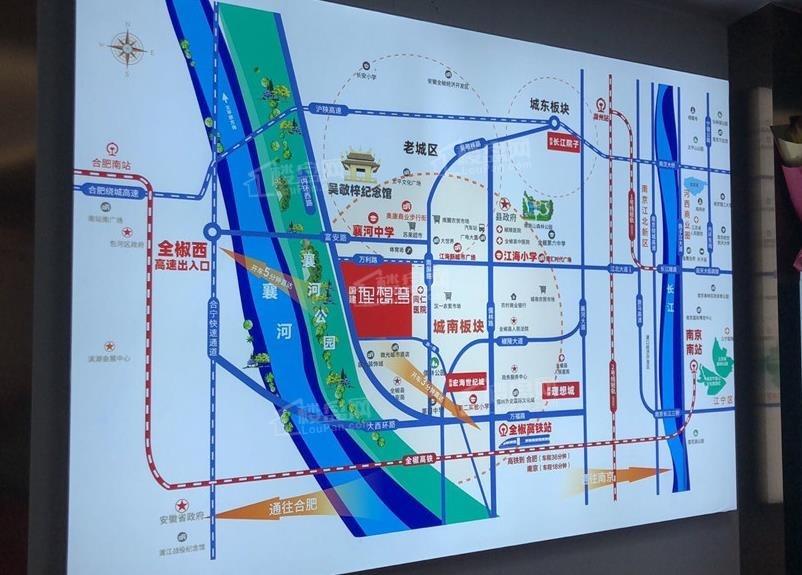 国建理想湾位置图