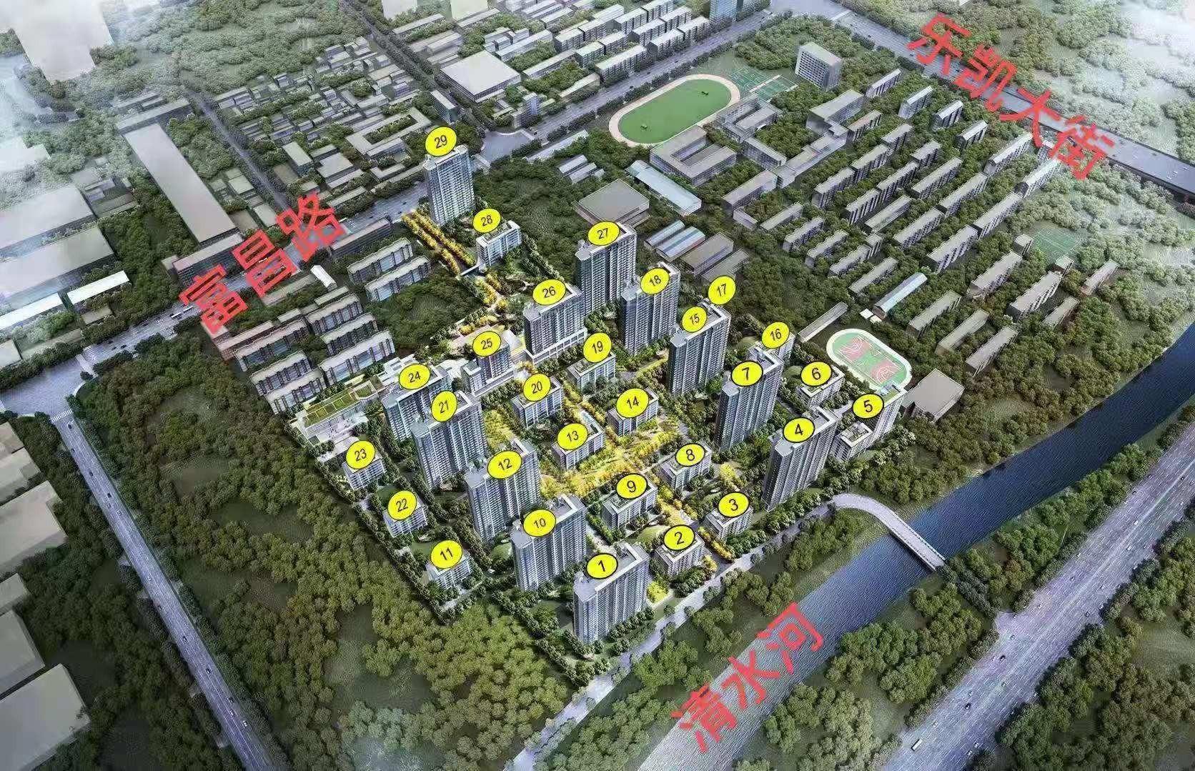 熙城峰景实景图