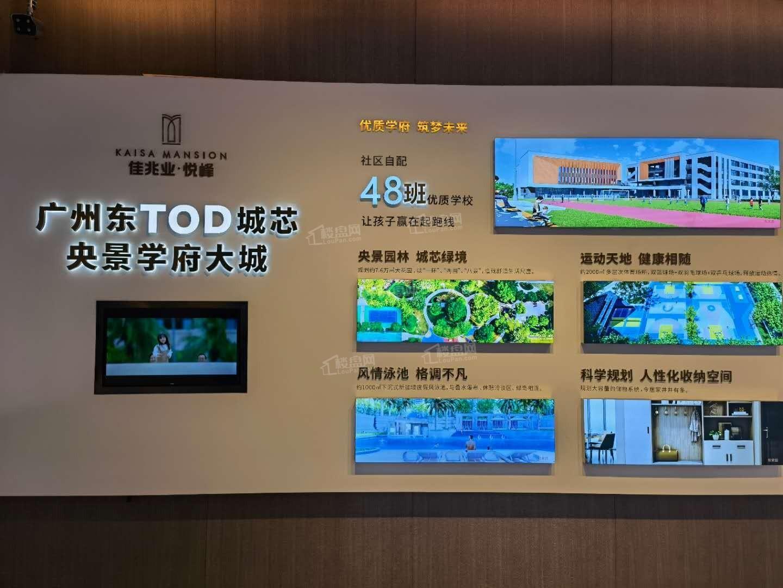 广州增城佳兆业悦峰配套图