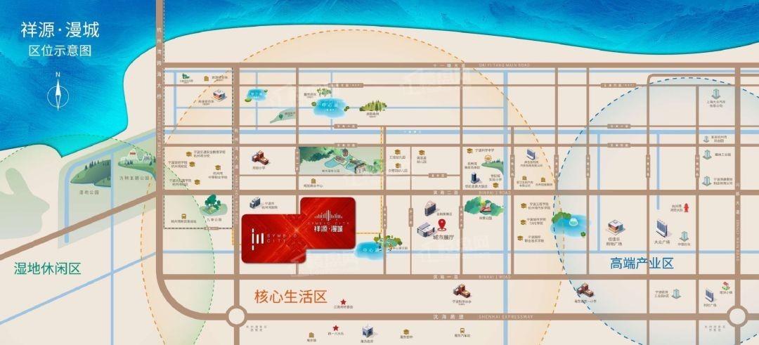 祥源漫城位置图