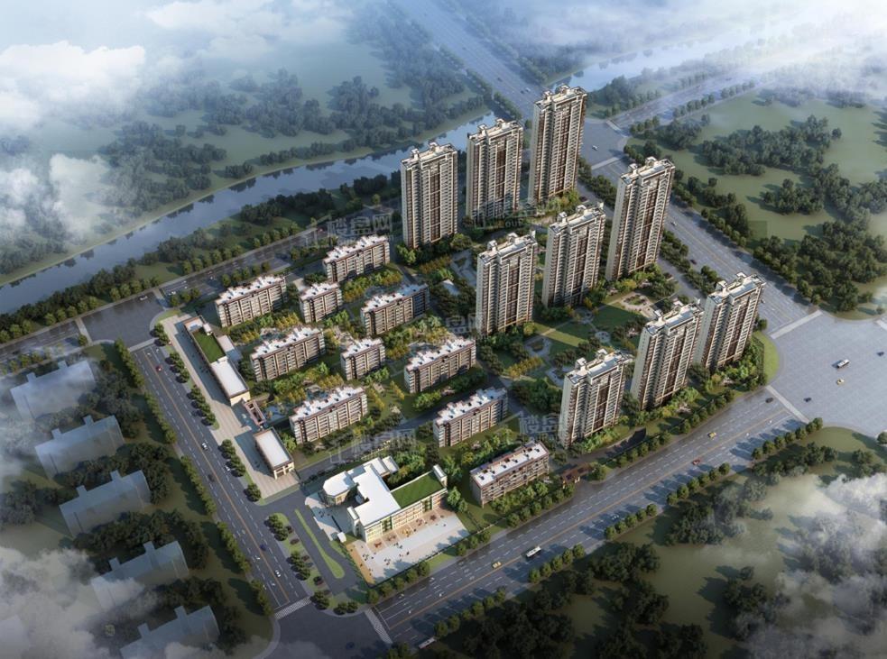 合生杭州湾国际新城效果图