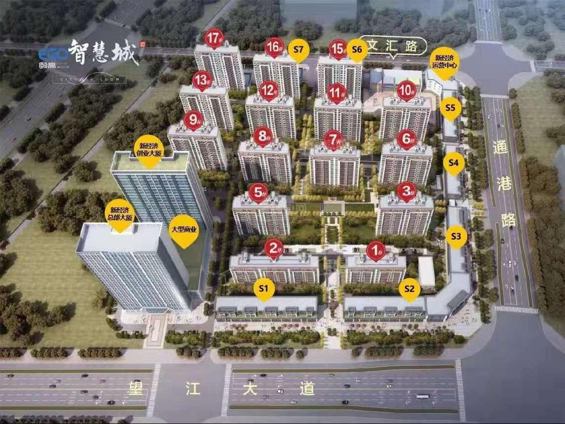 颐高·智慧城效果图