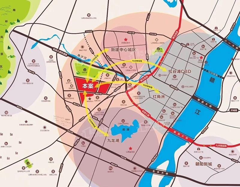 金龍灣小鎮位置圖