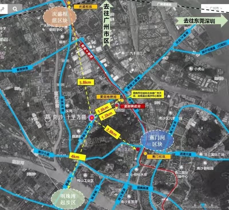 南沙·十里方圆位置图