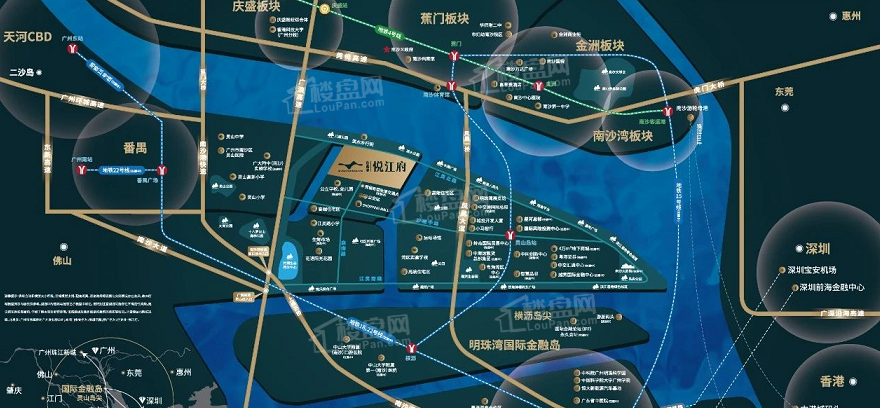 佳兆业·悦江府位置图