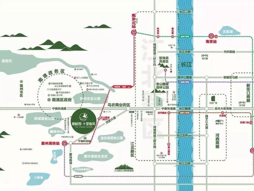 碧桂园 十里春风位置图