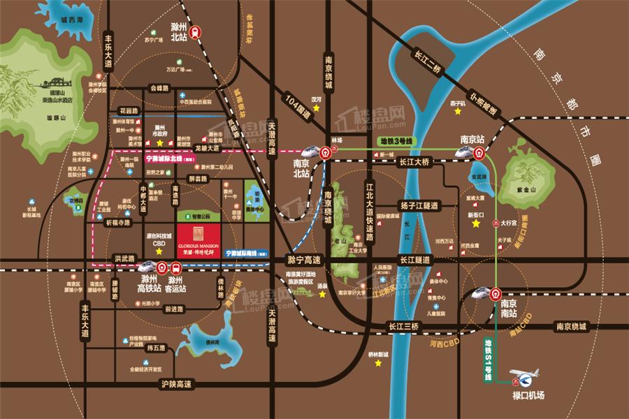 锦绣观邸位置图