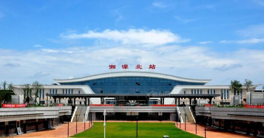 绿地湘江城际空间站配套图