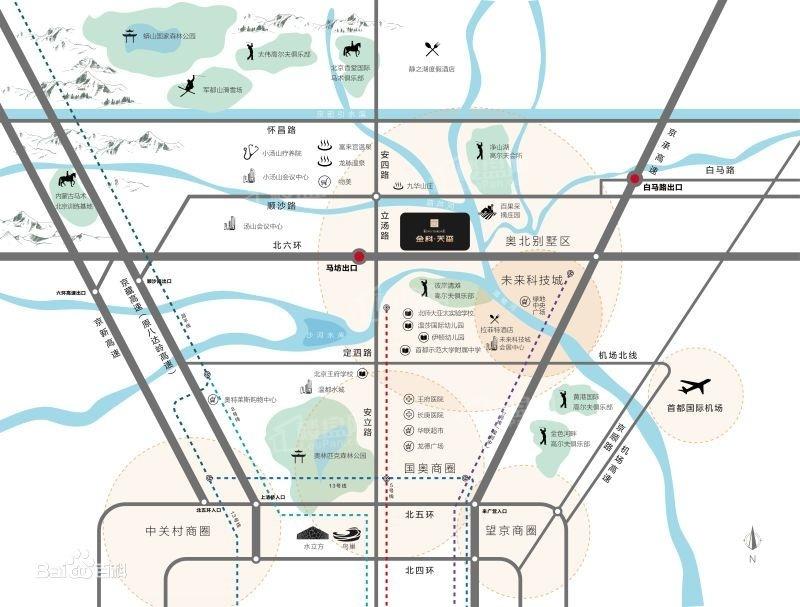 金科天玺位置图