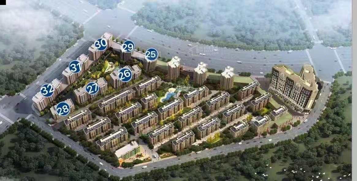 富春国际花园三期实景图