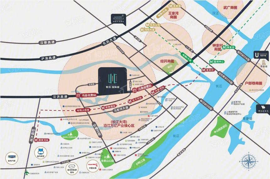 联投国际城位置图