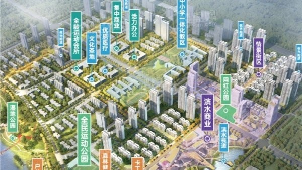 联投国际城配套图