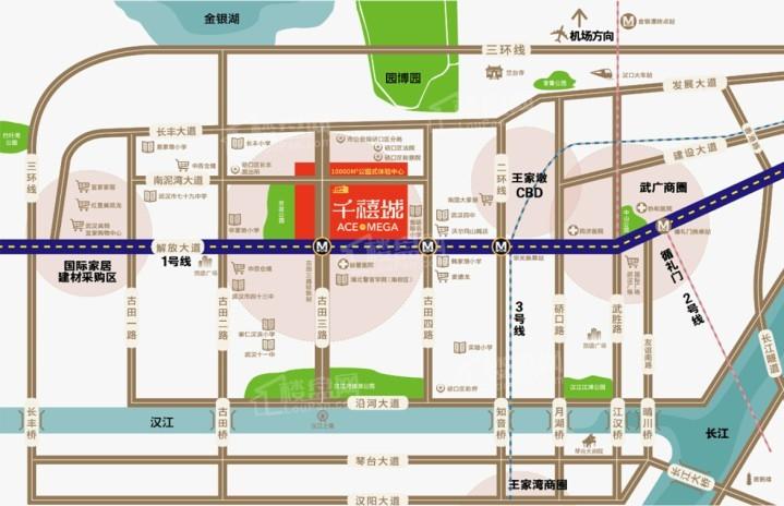 千禧城位置图