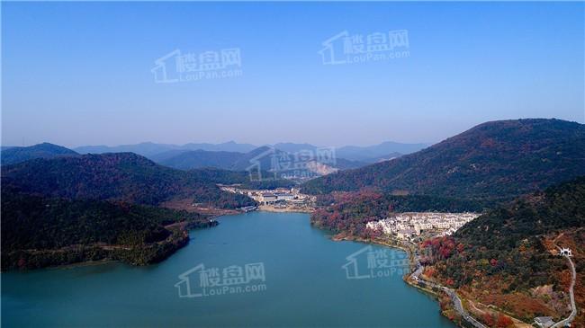 湖山一品实景图