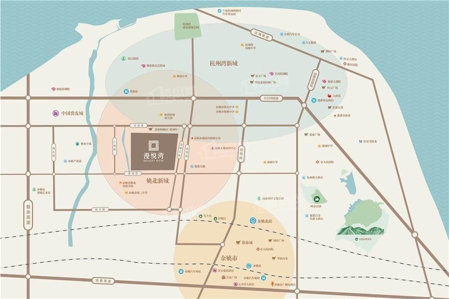 漫悦湾位置图