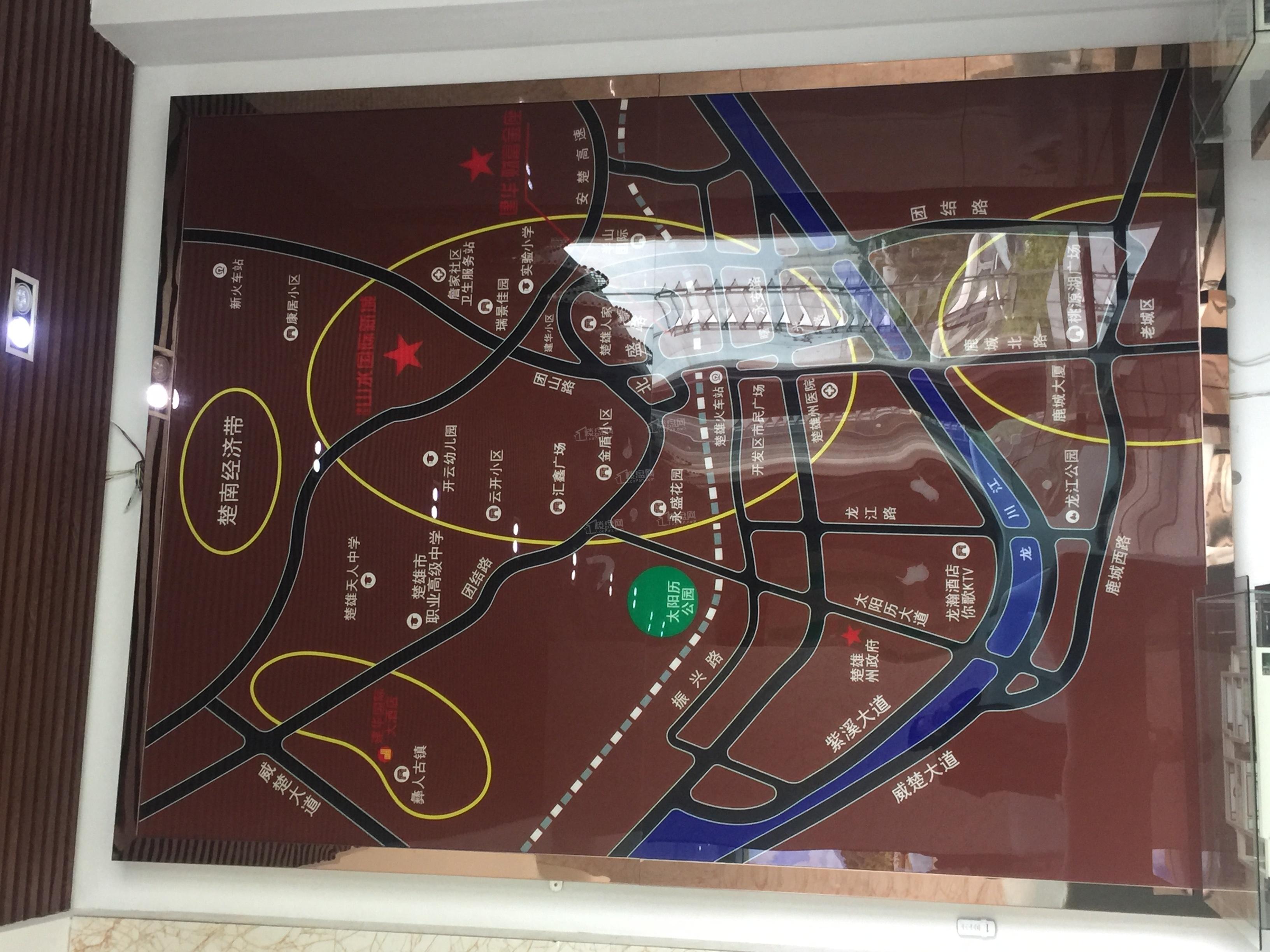 建华.山水国际新城位置图