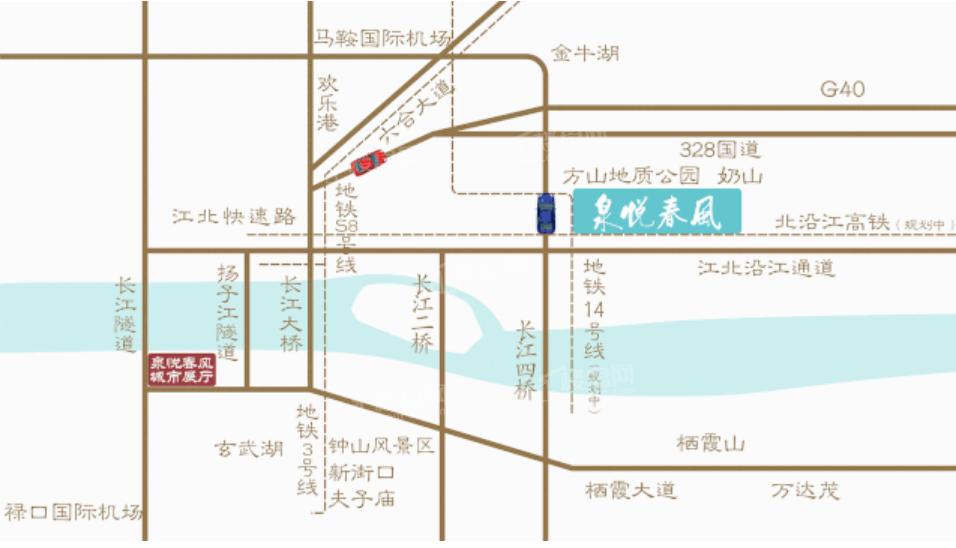 中证绿城泉悦春风位置图