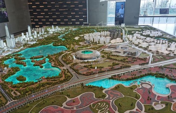 华润置地未来之城实景图