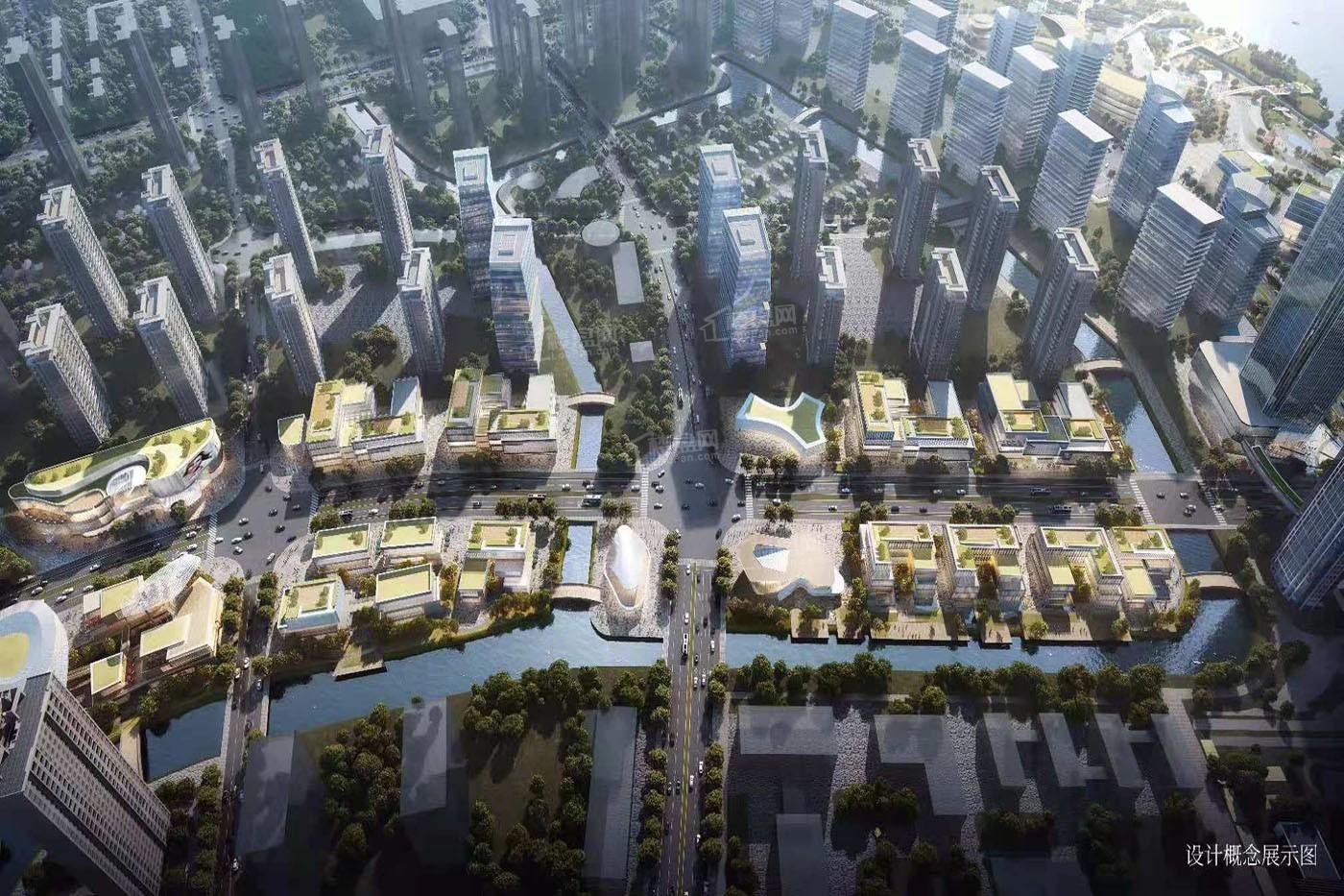 INC鳌江国际新城效果图