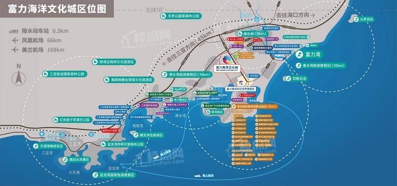 富力海洋文化城位置图