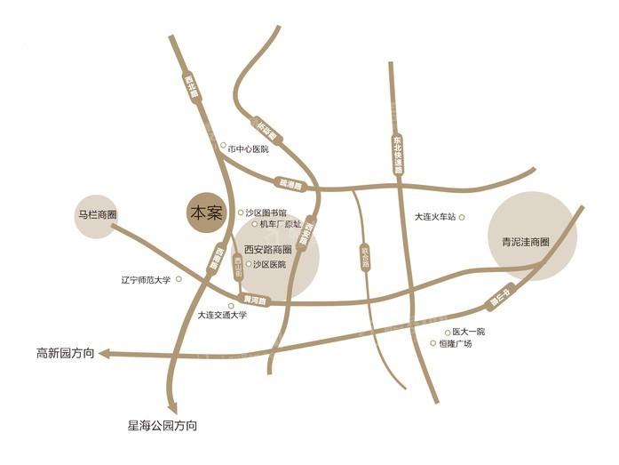 中海云川源境位置图