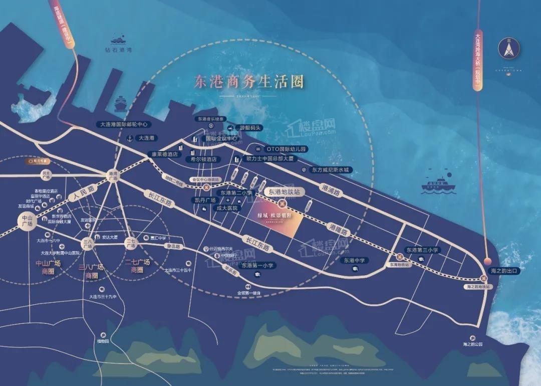 绿城桂语朝阳位置图