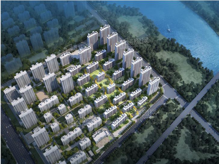 金地邦泰·城市星光效果图
